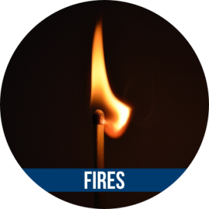 Link to FIRES with image of lit matchstick